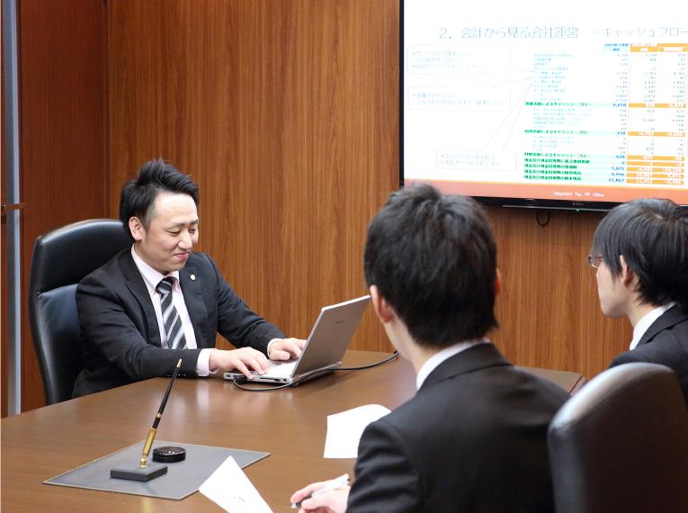 会社の組織形態の検討イメージ